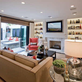 Fireplace Built Ins, Contemporary, living room, Spinnaker Development