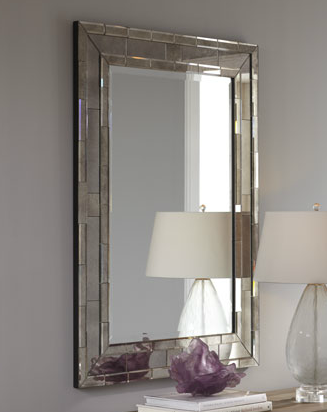 Horchow amsden mirror look 4 less for Decorative mirrors for less