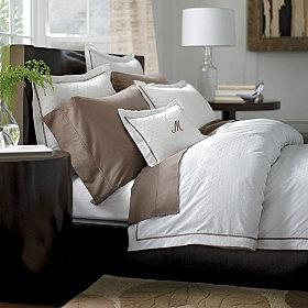 Fieldcrest 195 195 194 174 Luxury Hotel Duvet Set Grey Target