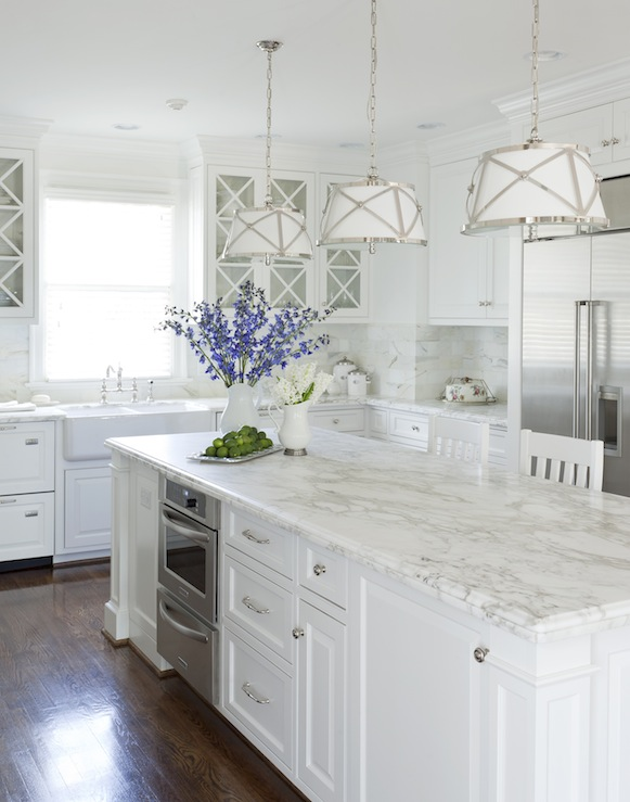 White Dove Cabinets Transitional Kitchen Benjamin Moore White