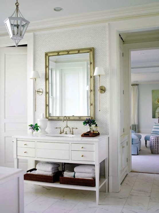 Beautiful Bathroom Vanities white bathroom vanity design ideas