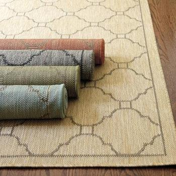 Geneve Indoor Outdoor Rug, Ballard Designs