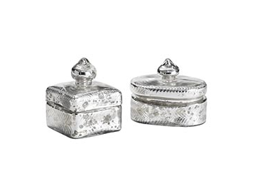 Relatively Anthropologie Mercury Trinket Box Look for Less CX34
