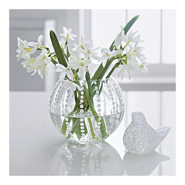 Kiki Vase in Vases, Crate&Barrel