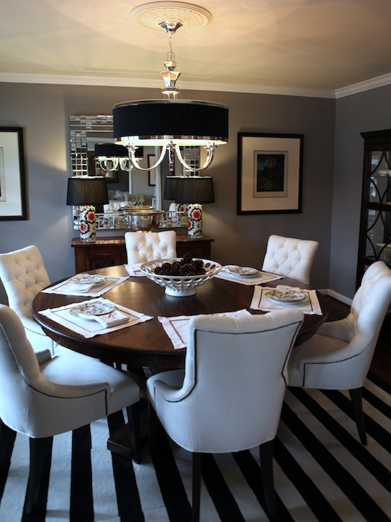 Super Martine Dining Chairs Transitional Dining Room Behr Bralicious Painted Fabric Chair Ideas Braliciousco