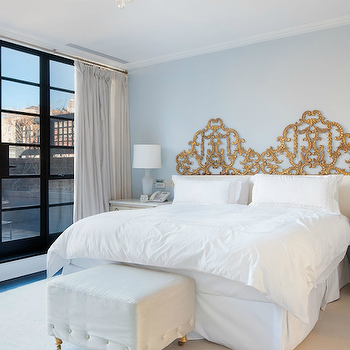 Ornate Headboard, French, bedroom, Nate Berkus Design
