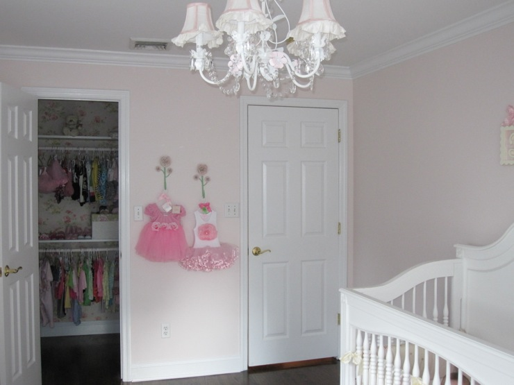 Nursery Benjamin Moore Melted Ice Cream