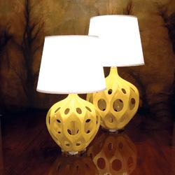 New Lamps Yellow Truffault Lamps