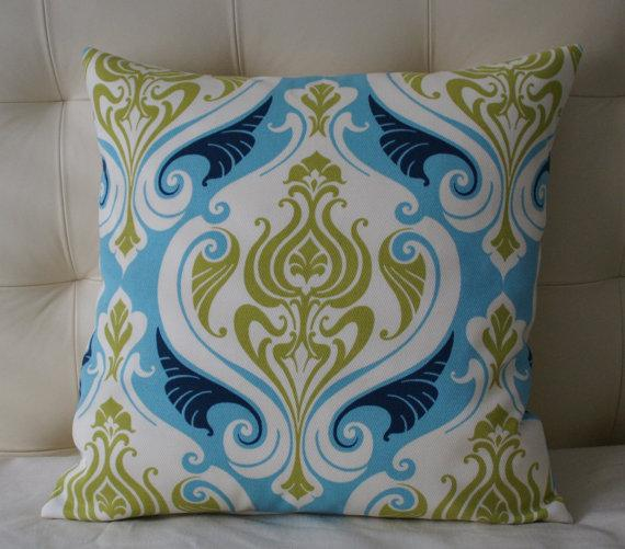 FREE SHIPPING Indoor/Outdoor Pillow Cover 20X20 by ZzzBoutique