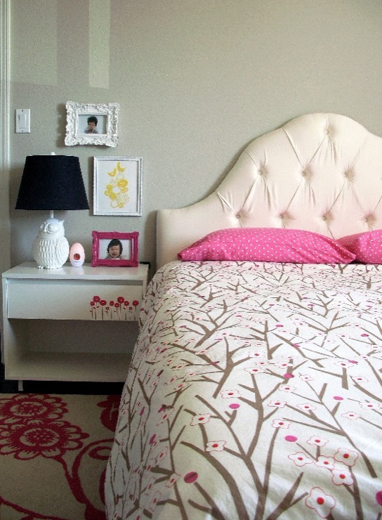 Beautiful Cherry Blossom Bedding - Contemporary - girl's room - Benjamin  GK43