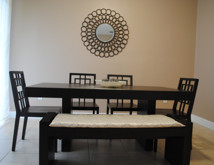 Dining Room - West elm terra dining table