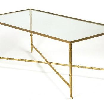 brass and glass table, Google Images