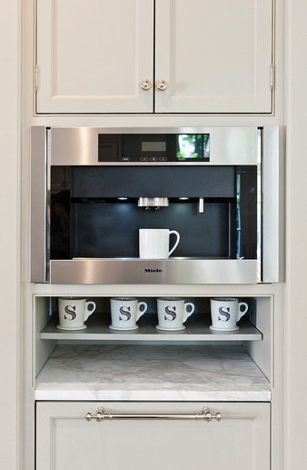 Built In Coffee Maker ~ Built in coffee machine design ideas