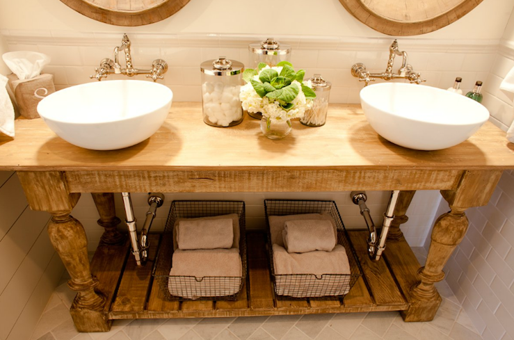 Rustic Bathroom Country Bathroom Pure Original