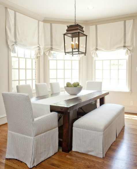 Enjoyable Skirted Bench Country Dining Room Munger Interiors Pdpeps Interior Chair Design Pdpepsorg