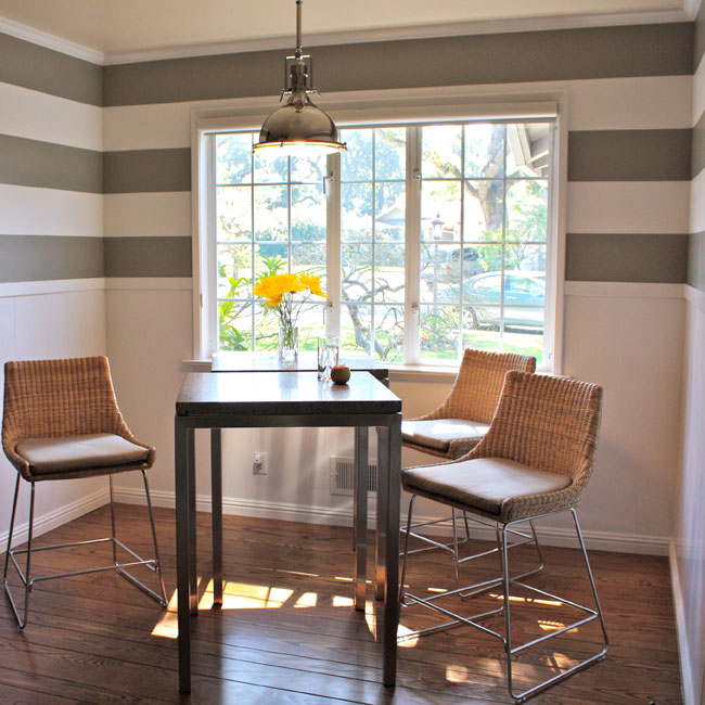 Horizontally Striped Walls
