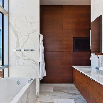 Floating Bathroom Cabinets Contemporary Bathroom Jamie Herzlinger