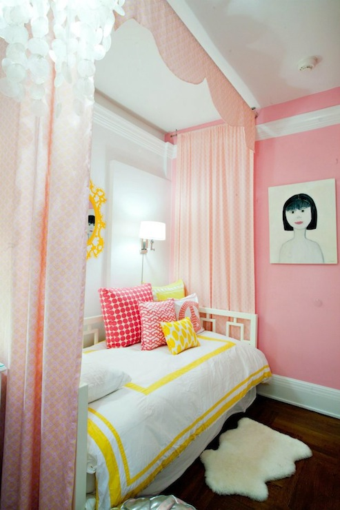 Charmant Pink Curtains
