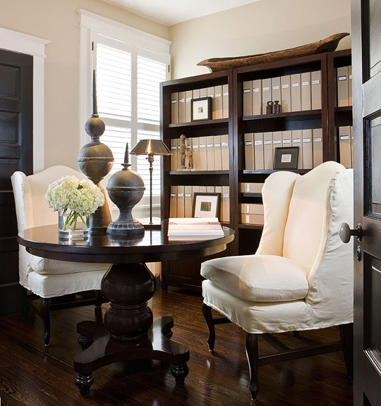 Small Office Den Decorating Ideas: Benjamin Moore