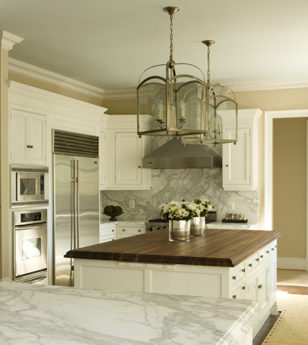 Kitchen Island Lanterns Transitional Kitchen Tracy