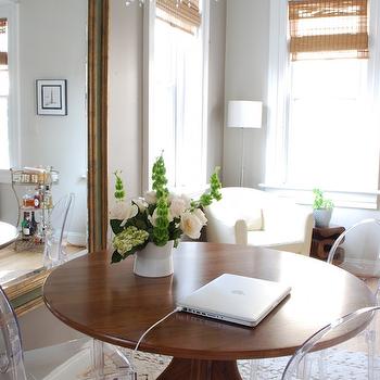 Mid Century Modern Dining table, Contemporary, dining room, Megan Blake Design