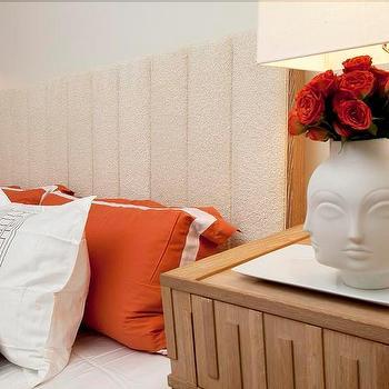 Greek Key Nightstand, Contemporary, bedroom, Lily Z Design