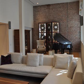 Brick Living Room Ideas