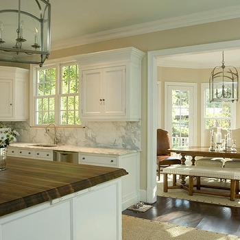 2 Tone Countertops, Transitional, kitchen, Tracy Morris Design