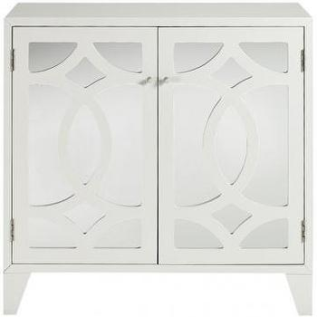 Reflections Lyre Cabinet, Cabinets, Storage Cabinets, Living Room Furniture, Furniture, HomeDecorators.com