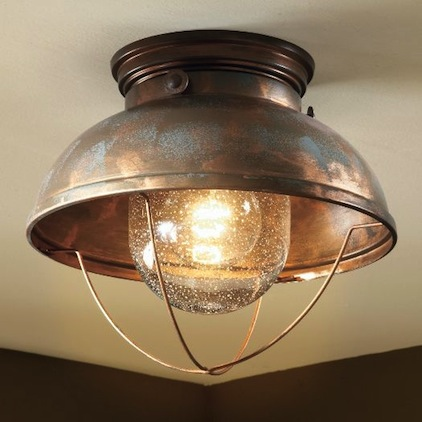 Fishermanu0027s Ceiling Light Weathered Copper view full size & Fishermanu0027s Pendant - Look 4 Less and Steals and Deals. azcodes.com