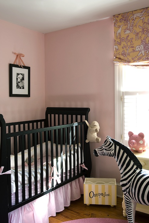 Black Nursery Crib Transitional Nursery Finnian S