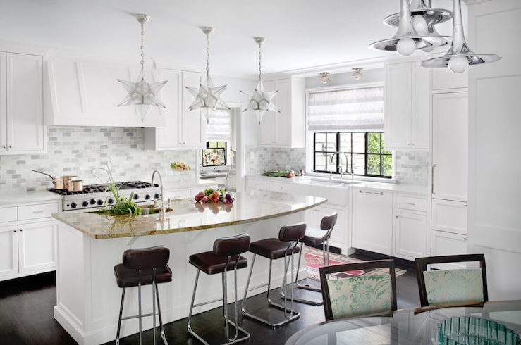 Star chandelier transitional kitchen alan design studio star chandelier aloadofball Choice Image