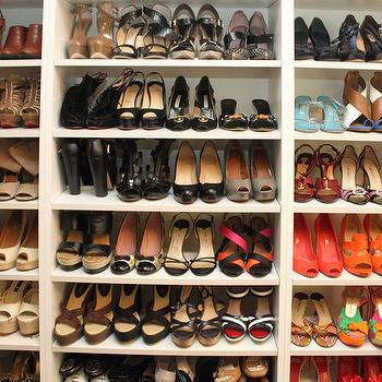 Shelves for Shoes, Contemporary, closet, Jeneration Interiors