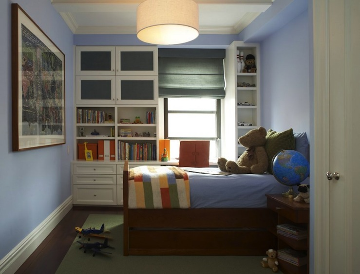 Kids Built In Cabinets Transitional Boy S Room B