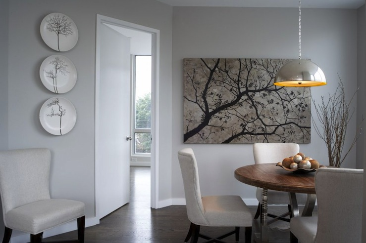 Gray Wall Art cherry blossom wall art design ideas