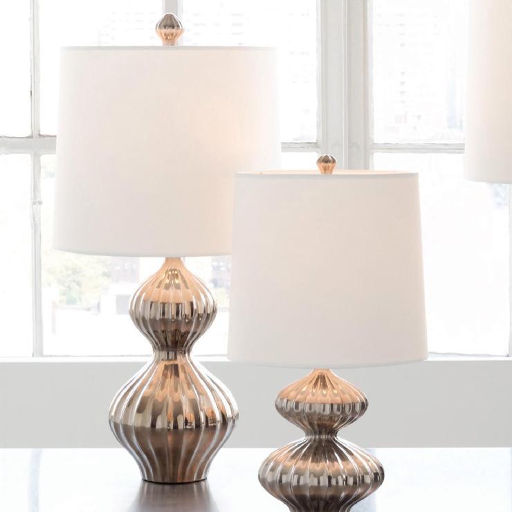Jonathan Adler Nelson Lamp Platinum In All Lighting
