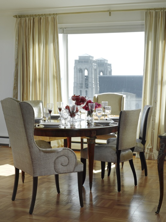 Scroll Dining Chairs