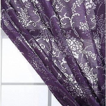UrbanOutfitters.com > Wallpaper Bouquet Burnout Curtain