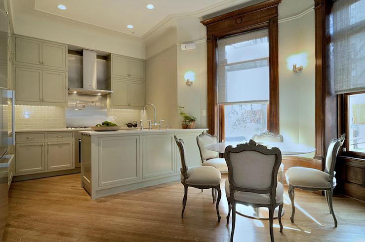 Brownstone Kitchen Design Transitional Kitchen