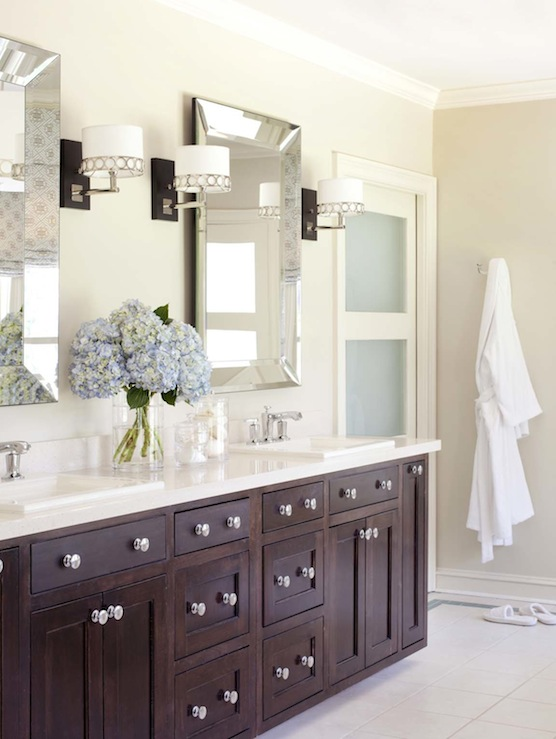 Pottery Barn Bathroom Mirror Traditional Bathroom The Casablanca Transformation