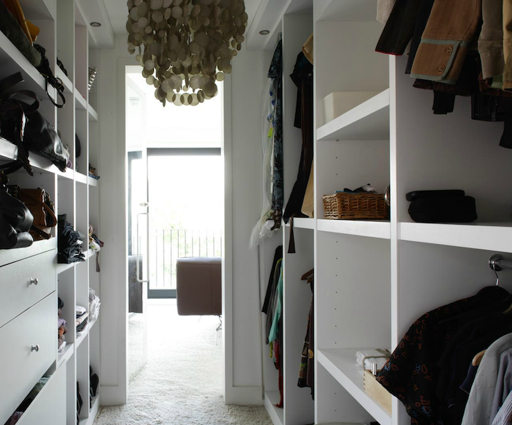 Charmant Walk In Closet Shelves
