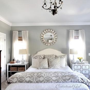 Gray Bedroom Transitional Bedroom Morgan Harrison Home