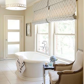 Stonegate Astoria Pendant, Transitional, bathroom, Sherwin Williams Wool Skein, Tobi Fairley
