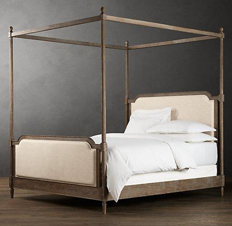 Full Size Four Poster Iron Beds