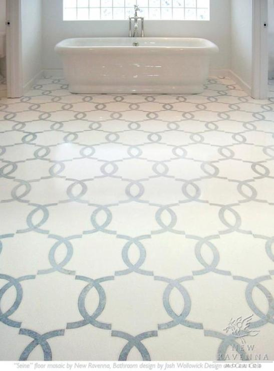 Lastest Bathroom Flooring Marabel Stone Mosaic From New Ravenna Mosaics