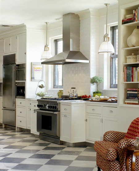 White Cabinets Gray Subway Tile Kashmir White Granite: Carter & Company Interior Design