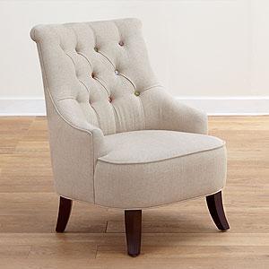 Erin Cute As A Button Loveseat Living Room Furniture