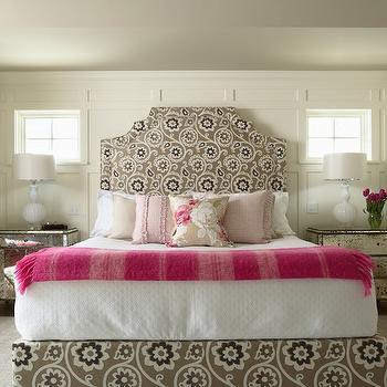 Cream Wall Paint, Contemporary, girl's room, Benjamin Moore Acadia White, Martha O'Hara Interiors