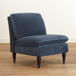 Atlantic Blue Ravenna Chair, Living Room Furniture| Furniture, World Market