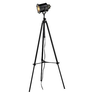 Wonderful Dimond Lighting Legacies Ethan Adjustable Tripod Floor Lamp In Restoration  Black   Wayfair